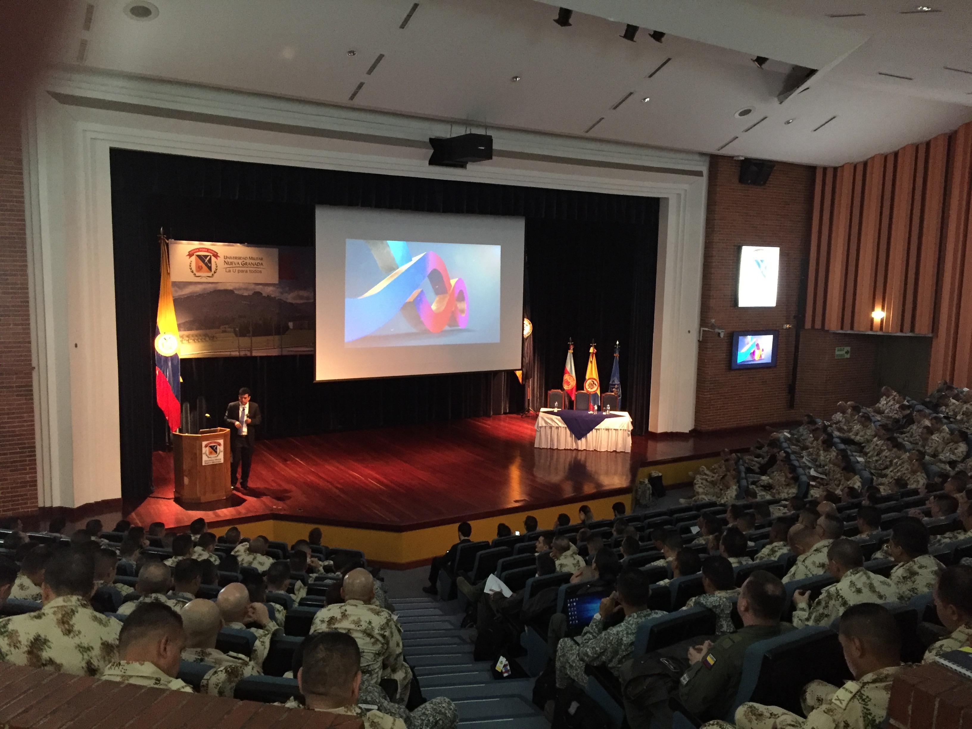 Aula Máxima Universidad Militar Nueva Granada